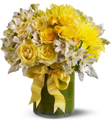 Lemon Aid84 All-Around Floral Arrangement