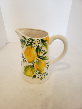 Lemon Ceramic Jug Giftware