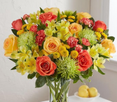 LEMON DELIGHT VASE