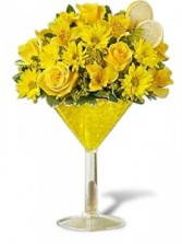 LEMON DROP MARTINI GFFG Arrangement