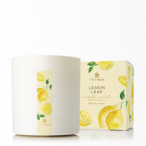Lemon Leaf THYMES Poured Candle