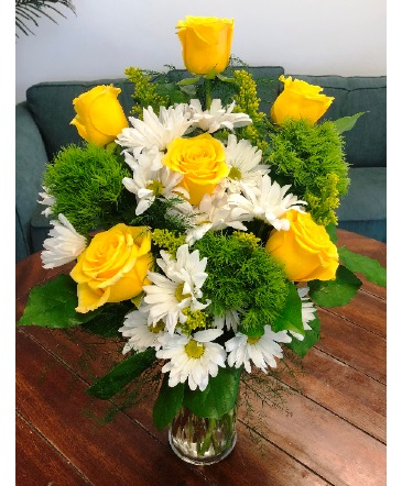 Lemon-Lime Zest Arrangement