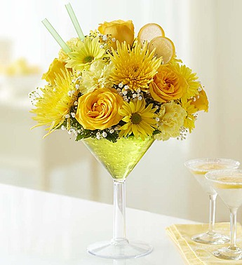 91078L Lemon Martini Bouquet