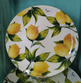 Lemon Tree lunch plate Lunch plate