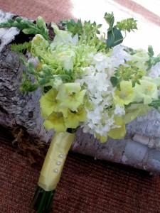 Lemon Zest Bridal Bouquet