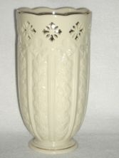 Lenox Fleur De Lis Vase 10 Inches Tall