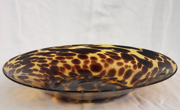 Leopard Dish Vase
