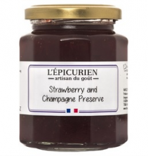 L'Epicurien Champagne & Strawberry Jam Gourmet Food