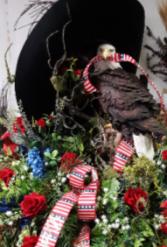 Let Freedom Ring casket spray