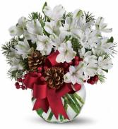 Let It Snow - 128 Vase arrangement