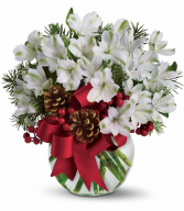 Let It Snow All-Around Floral Arrangement