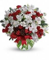 Let it Snow Bouquet Holiday Arrangment