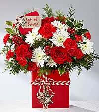 Let it Snow! Vase in Macon, GA | PETALS, FLOWERS & MORE