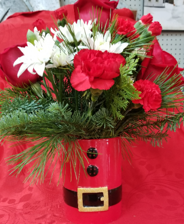 Let's be Jolly Christmas arrangement
