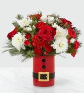 Let's Be Jolly Vase