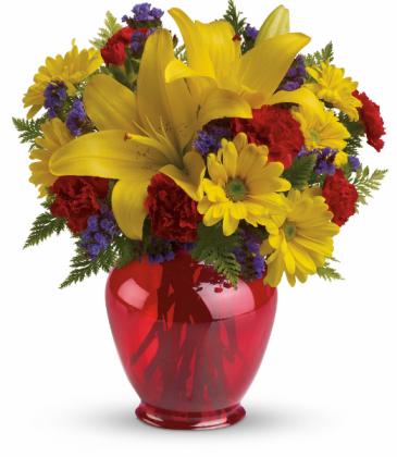 Lets Celebrate Vase