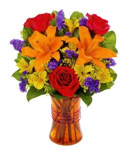 Let's Celebrate  Vased Arrangement  in Phoenix, NY   BLUSHING ROSE BOUTIQUE