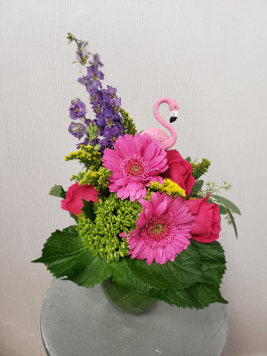 Let's Flamingle  in Port Huron, MI | CHRISTOPHER'S FLOWERS