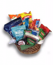 Lets Get Salty Custom Salty Snack Basket