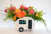 Let's Go Camping  Floral Design