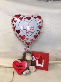 Let's MONKEY Around on Valentine's Day