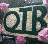 Lettering  OTB sign