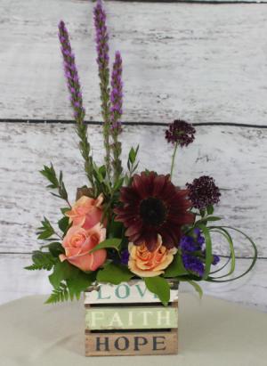 LFH Design fall in Stevensville, MT | WildWind Floral Design Studio