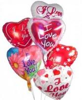 Lg & Small Mylar Balloons Styles Vary