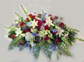 Liberty Casket Blanket/Spray Powell Florist Exclusive