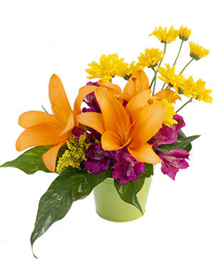 Life in Lilies Flower Arrangement in Sunrise, FL | FLORIST24HRS.COM