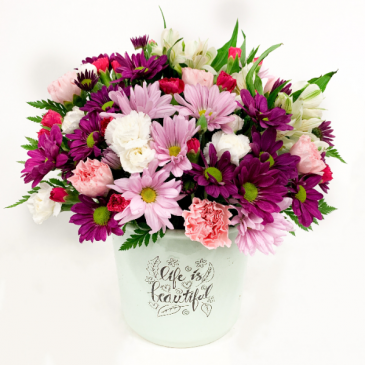 Life is Beautiful Mount Pearl Florist Design