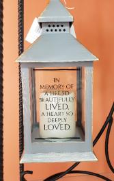 Life So Beautifully Lived Mini Lantern