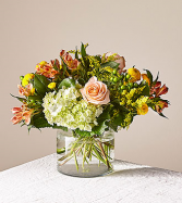 Life's a Peach Deluxe Clear Vase