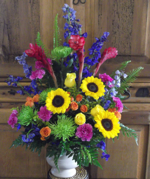 Life's Celebration Funeral Urn in Venice, FL | ALWAYS AN OCCASION FLORIST & DECOR
