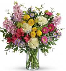 Light and Goodness Vase Arrangement
