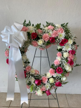Light Color Large Heart Wreath Heart