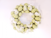 Light green Easter egg wreath Giftware