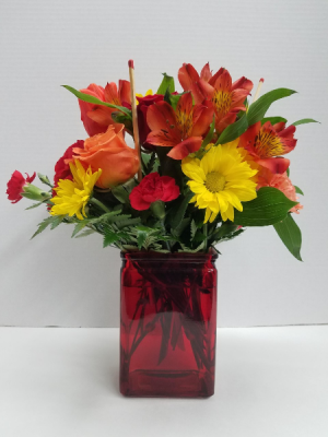 Light My Fire Bouquet in Osage, IA | Osage Floral & Gifts