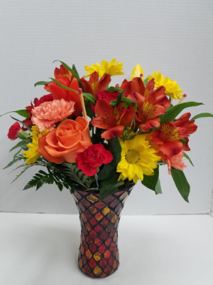 Light My Fire II Bouquet in Osage, IA | Osage Floral & Gifts