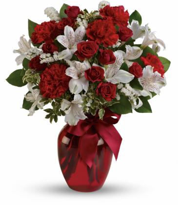 Light Of My Heart  All-Around Floral Arrangement