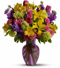 Light of My Life Colorful Mixed Bouquet