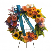 Light of Our Lives Standing Wreath
