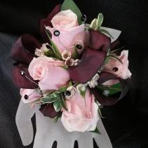 Light Pink Spray Rose Corsage Corsage