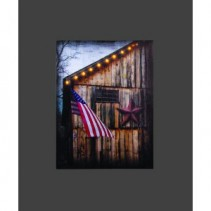 Lighted Americana Canvas
