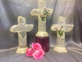 LIGHTED MEMORY CROSSES