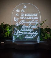 Lighted Plaque Sympathy Gift