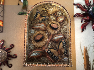 Lighted Sunflower Metal Art  in Casa Grande, AZ | NATURE'S NOOK FLORIST, LLC