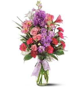 LIGHTY FRAGRANT Vase Arrangement