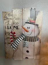 Like Home Snowman Hanger