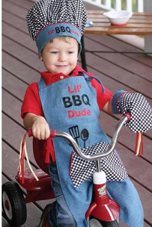 Lil' BBQ Dude Apron